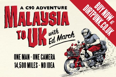 Malaysia to UK - A c90 adventure