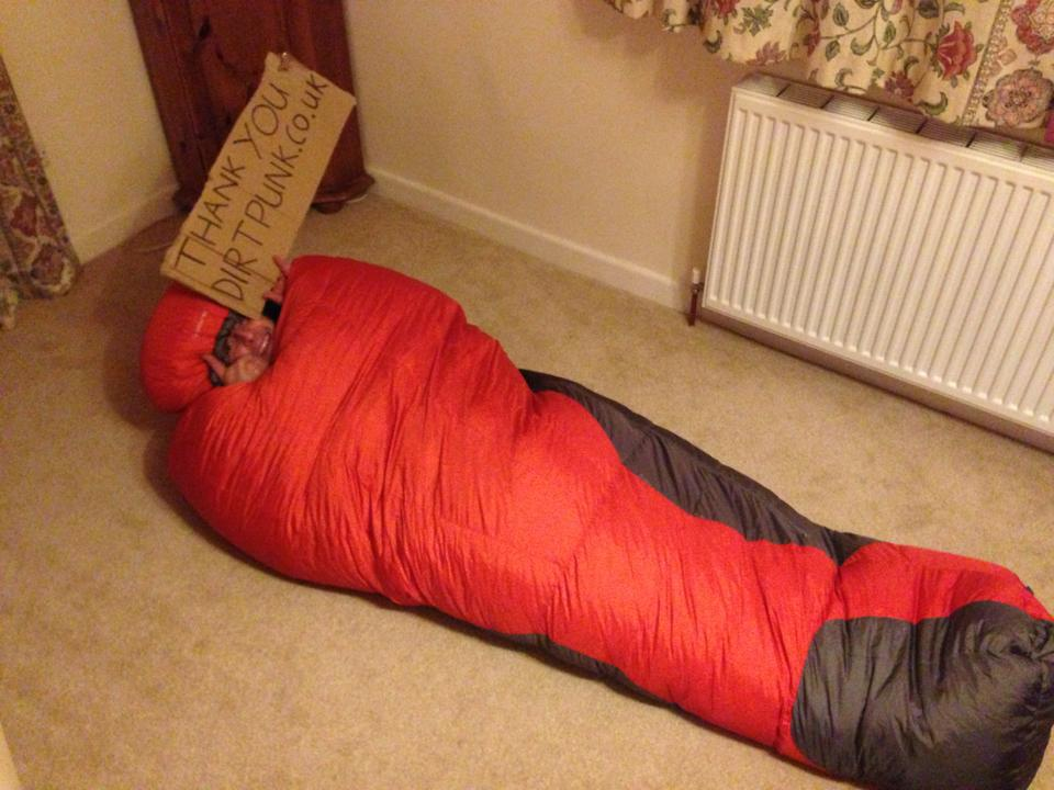 dirtpunk.co.uk sleeping bag